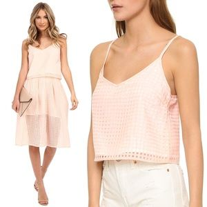 Jack by BB Dakota Gingham Kapowski Top - Peach